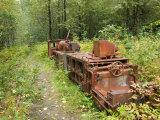 Last Chance Mining Museum and Train  Juneau  Southeast Alaska  Alaska  USA