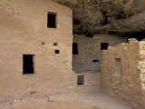 Anasazi  Ancient Puebloans  Spruce Tree House Ruins  Mesa Verde National Park  Colorado  USA