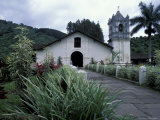 Exterior of 17th Century Catholic Church  Orosi  Costa Rica