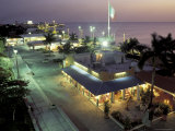 Night Scenic  San Miguel  Cozumel Island  Quintana Roo  Mexico