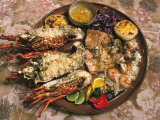 Close-up of Seafood Platter  Puerto Vallarta  Mexico
