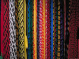 Colorful Hammocks at the Market  Oaxaca  Mexico