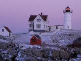 Cape Neddick Lighthouse  The Nubble  Maine  USA