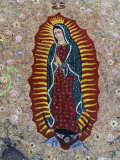 Religious Painting  Baja Region  Mexico