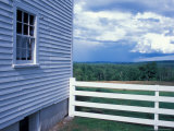 View of Sabbathday Lake Shaker Village  Maine  USA