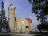 Old Mackinac Point Lighthouse  Michigan  USA