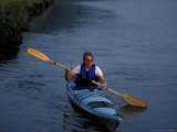 Kayaking the Mousam River  Rachel Carson National Wildlife Refuge  Maine  USA
