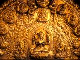 Gold Sculpture Artwork in Bali  Indonesia