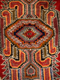 Colorful Rug Artwork  Casablanca  Morocco