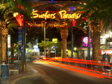 Surfers Paradise Sign  Gold Coast  Queensland  Australia