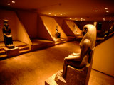 Cachette Hall and Granite Statue of Goddess Lunyt  Luxor Museum  Luxor  Egypt