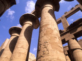 Ancient Ruins of Kings at the Temple of Karnak  Luxor  Egypt