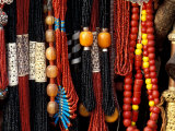 Color Bead Strands  Katmandu  Nepal