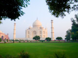 Taj Mahal at Sunrise  Agra  India