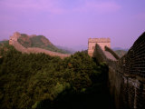 Morning View of The Great Wall of China  Beijing  China