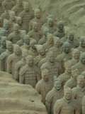 Terra Cotta Warriors and Horses Dig  Xi'an  Shaanxi Province  China