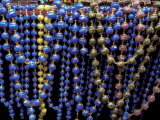 Colorful Beads for Sale in Khan al-Khalili Bazaar  Cairo  Egypt