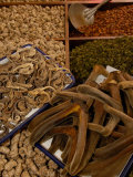 Deer Antler at Kunming Traditional Medicine Market  Yunnan Province  China