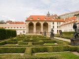 Wallenstein Gardens in the Old Town District  Prague  Czech Republic