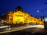 Flinders Street Station  Melbourne  Victoria  Australia