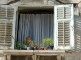 Window in Private Home  Split  Croatia