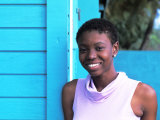 Young Local Woman in St Vincent and the Grenadines