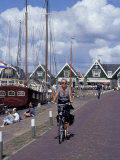 17th Century Fishing Village on Banks of the former Zuiderzee  Marken  Netherlands