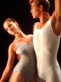 Ballet Dancers in Graceful Pose