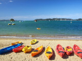 Kayaks  Paihia  Northland  New Zealand