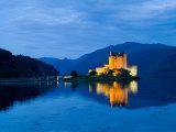 Eileen Donan Castle  Western Dornie in Highlands  Scotland