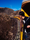 Taieri Gorge Train  near Dunedin  Otago  New Zealand