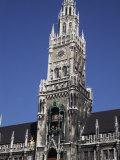 Karlsplatz and Church Center  Munich  Germany
