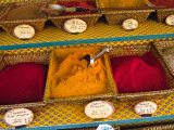 Spices at the Outdoor Market  Nice  France