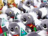 Fluffy Koalas and Kangaroos  Queen Victoria Market  Melbourne  Victoria  Australia