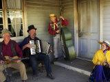 Musicians  Sovereign Hill  Ballarat  Victoria  Australia