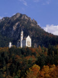 Bavarian Alps and Neuschwanstein Castle  Germany