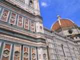 Duomo Church Close-Up in Florence  Italy