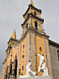 The Cathedral in the Heart of Old Mazatlan  Mexico