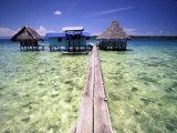 Restaurant Over the Water  Bocas del Toro Islands  Panama