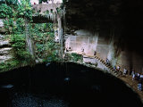 Mayans Ruins  East of Chichen Itza  Into the Cenote  Mexico