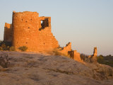 Hovenweep Castle at the Little Ruin Canyon  Hovenweep National Monument  Utah  USA