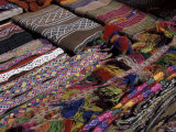 Souvenirs at the Pisac Market  Ruins at Pisac  Peru