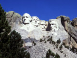 Mt Rushmore Presidents  South Dakota  USA
