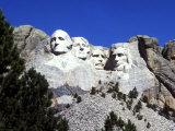 Mt Rushmore Presidents  South Dakota  USA