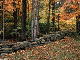 Stone Fence in Vermont  USA
