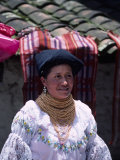 Market Vendor in Ecuador