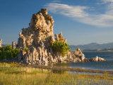 Tufas and Mono Lake  South Tufa Area  Mono Lake Tufa State Reserve  California  USA