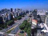 9th de Julio Avenue  Worlds Widest Street  Buenos Aires  Argentina