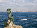 Mermaid Monument at the Glorieta Sanchez Taboada  Mazatlan  Mexico