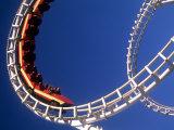 Boardwalk Roller Coaster  Ocean City  Maryland  USA
